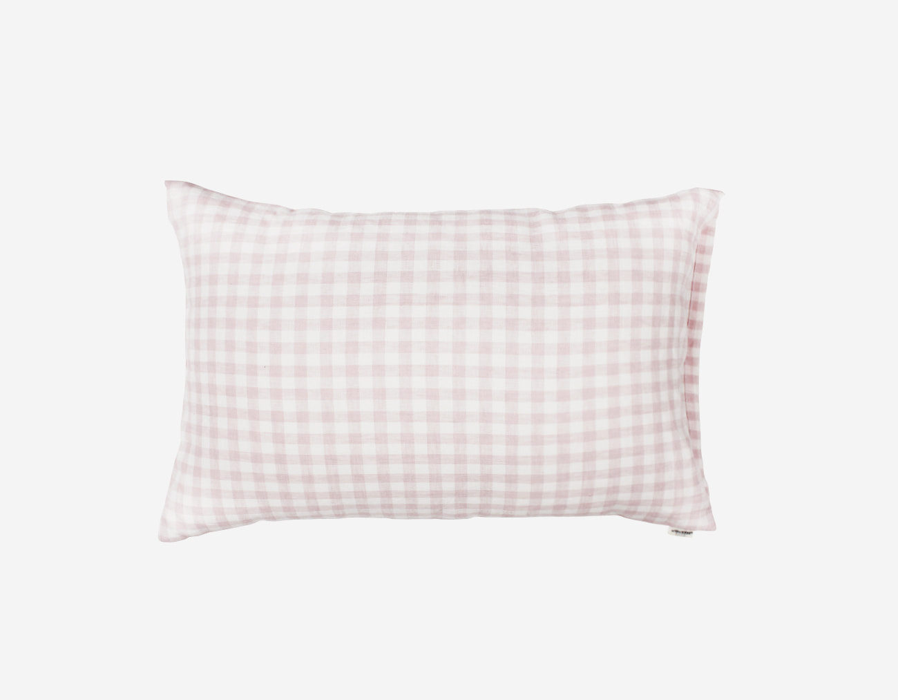 PINK CHECK PILLOW